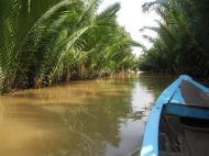 Asisbiz Mekong Delta Saigon River cruise 4th stage canoe Nov 2009 23