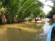 Asisbiz Mekong Delta Saigon River cruise 4th stage canoe Nov 2009 24