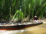 Asisbiz Mekong Delta Saigon River cruise 4th stage canoe Nov 2009 25