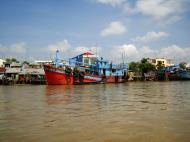 Asisbiz Mekong Delta Saigon river Vietnamese fishing boats Nov 2009 09