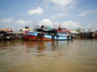 Asisbiz Mekong Delta Saigon river Vietnamese fishing boats Nov 2009 12