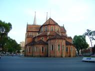 Asisbiz Vietnam Ho Chi Minh City Saigon Notre Dame Cathedral architecture Feb 2009 02