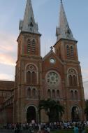 Asisbiz Vietnam Ho Chi Minh City Saigon Notre Dame Cathedral architecture Feb 2009 16