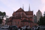 Asisbiz Vietnam Ho Chi Minh City Saigon Notre Dame Cathedral architecture Feb 2009 31