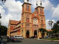 Asisbiz Vietnam Ho Chi Minh City Saigon Notre Dame Cathedral architecture Nov 2009 02
