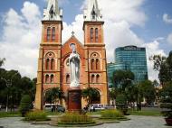 Asisbiz Vietnam Ho Chi Minh City Saigon Notre Dame Cathedral architecture Nov 2009 06