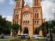 Asisbiz Vietnam Ho Chi Minh City Saigon Notre Dame Cathedral architecture Nov 2009 10