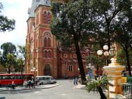 Asisbiz Vietnam Ho Chi Minh City Saigon Notre Dame Cathedral architecture Nov 2009 13