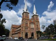 Asisbiz Vietnam Ho Chi Minh City Saigon Notre Dame Cathedral architecture Nov 2009 14