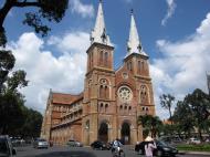 Asisbiz Vietnam Ho Chi Minh City Saigon Notre Dame Cathedral architecture Nov 2009 16