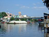 Asisbiz Vietnam Ho Chi Minh City Saigon harbor Ferries boats Feb 2009 01