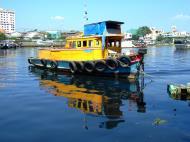 Asisbiz Vietnam Ho Chi Minh City Saigon harbor Ferries boats Feb 2009 08