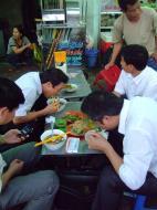 Asisbiz Vietnam Ho Chi Minh City Saigon Vietnamese Food Stalls Feb 2009 01