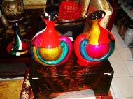 Asisbiz Vietnamese Lacquerware Vases Tay Son District 3 HCMC 2009 03