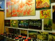 Asisbiz Vietnamese Lacquerware paintings Tay Son District 3 HCMC 2009 01