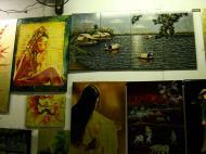 Asisbiz Vietnamese Lacquerware paintings Tay Son District 3 HCMC 2009 02