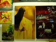 Asisbiz Vietnamese Lacquerware paintings Tay Son District 3 HCMC 2009 03