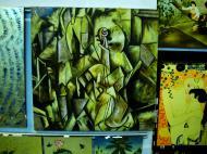 Asisbiz Vietnamese Lacquerware paintings Tay Son District 3 HCMC 2009 06