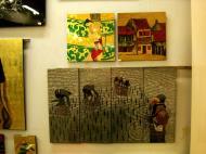 Asisbiz Vietnamese Lacquerware paintings Tay Son District 3 HCMC 2009 17