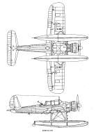 Asisbiz Arado Ar 196A 1.72 scale blue print 0B