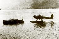 Asisbiz Arado Ar 196A being toed back to its mooring 01