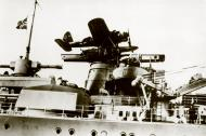 Asisbiz Arado Ar 196A launch catapult KMS Gneisenau 01