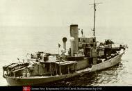 Asisbiz Kriegsmarine German Naval Ship UJ2104 Darvik Mediterranean Sep 1943