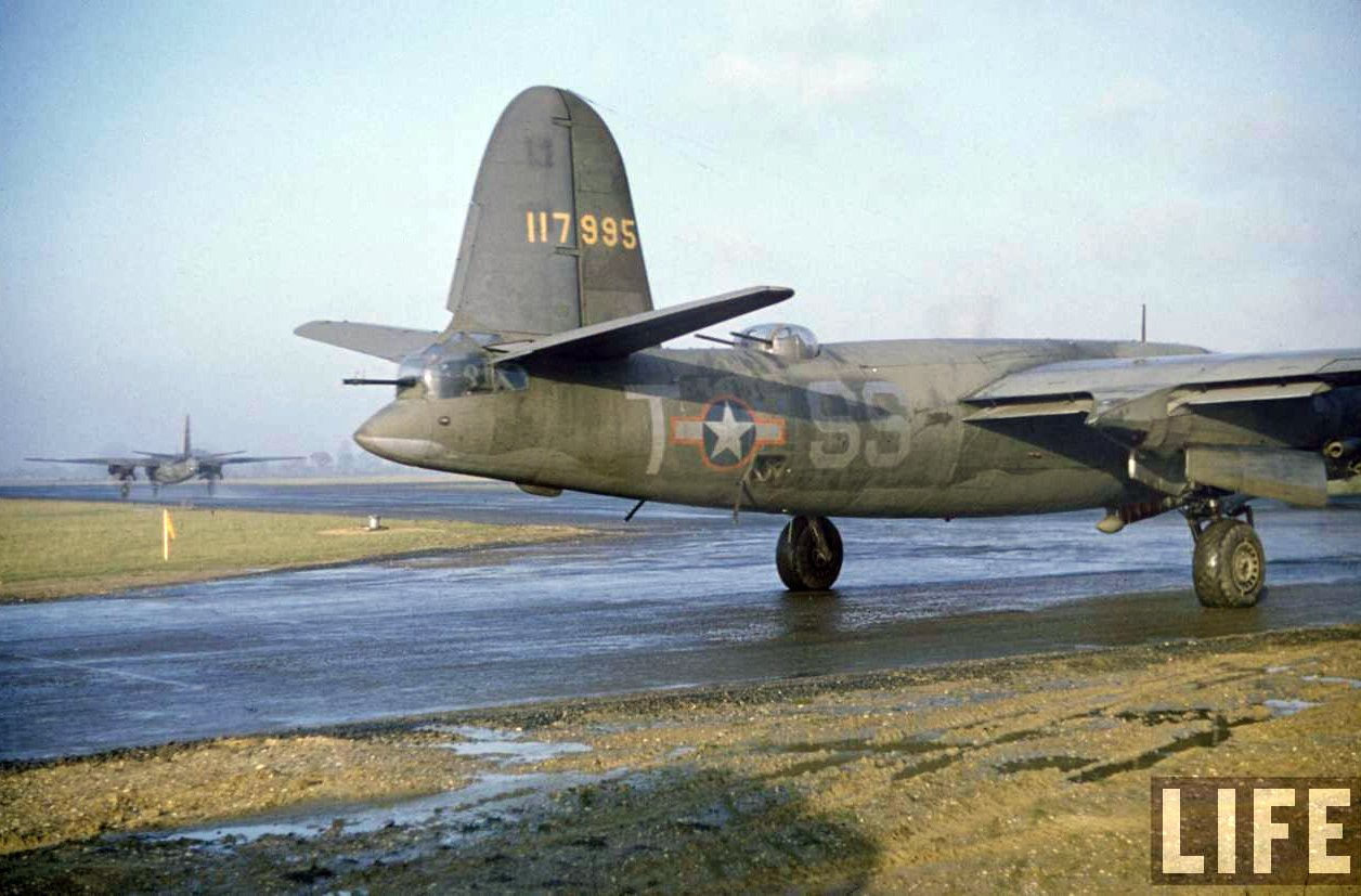 USAAF 41 17995 B 26B Marauder 322BG451BS SST Mr Period Twice 01