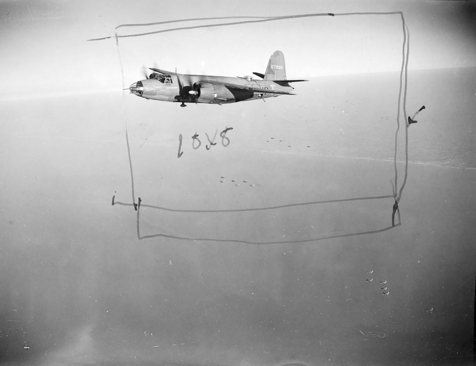 USAAF 41 17995 B 26B Marauder 322BG451BS SST Mr Period Twice Nov 1943 02