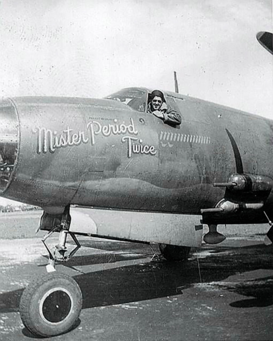 USAAF 41 17995 B 26B Marauder 322BG451BS SST Mr Period Twice nose art 02
