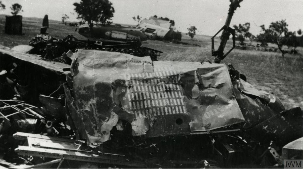 USAAF 41 18263 B 26B Marauder 319BG439BS Duration Plus crashed on takeoff 13 May 1944 01