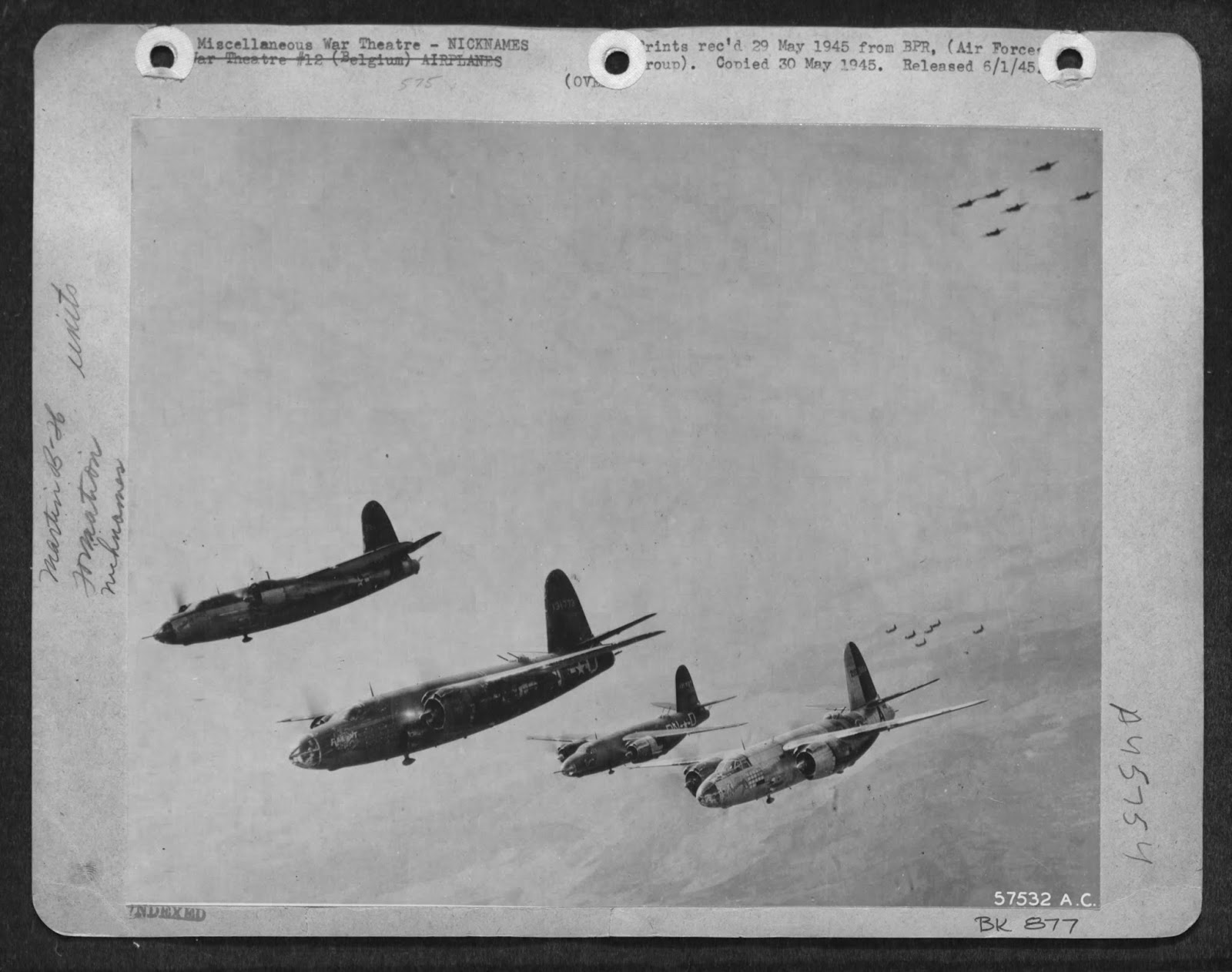 USAAF 41 31773 B 26B Marauder 322BG449BS PNO with PNX PND and PNA 02