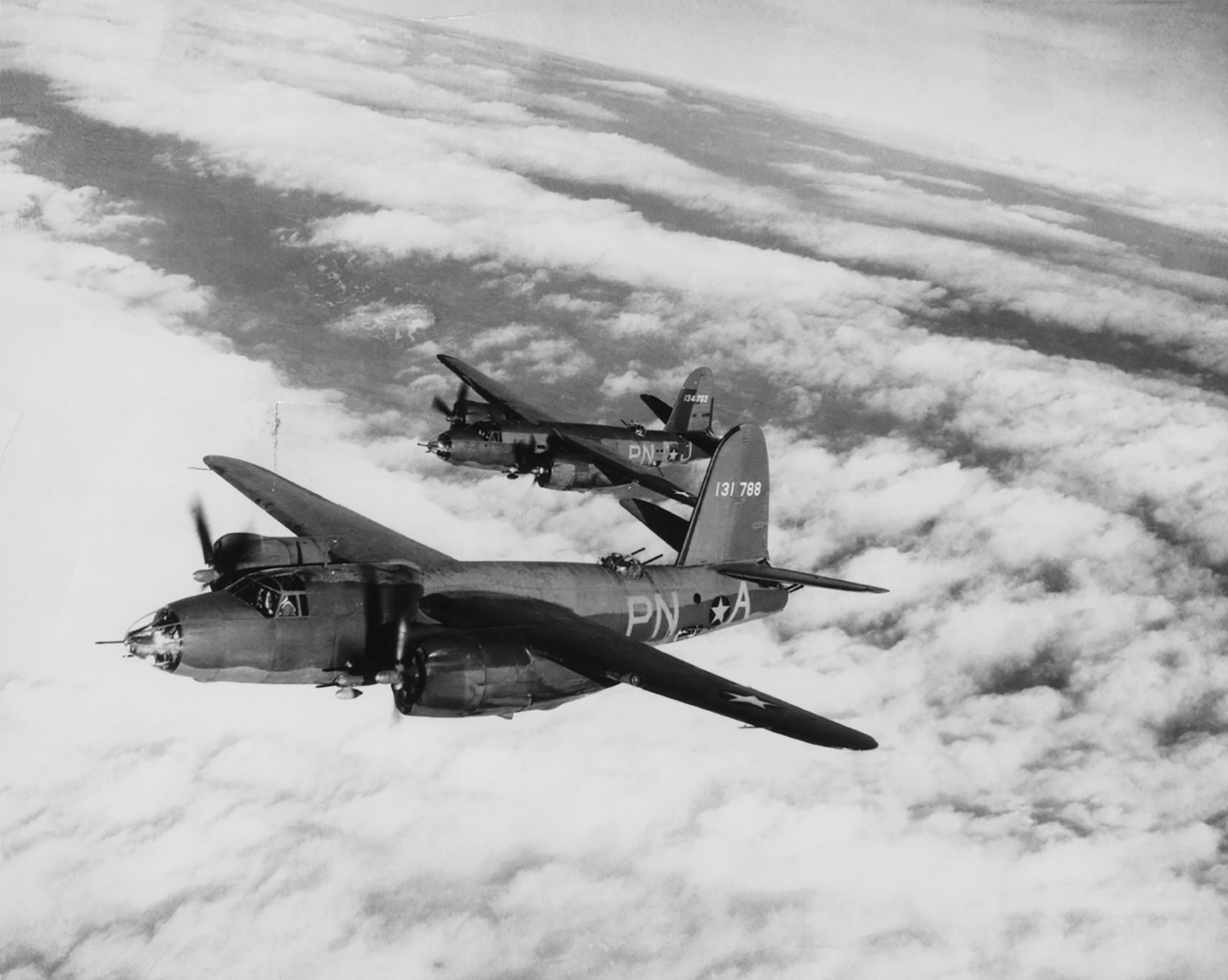 USAAF 41 31788 B 26B Marauder 322BG449BS PNA Truman Committee out of Andrews Field 1944 02