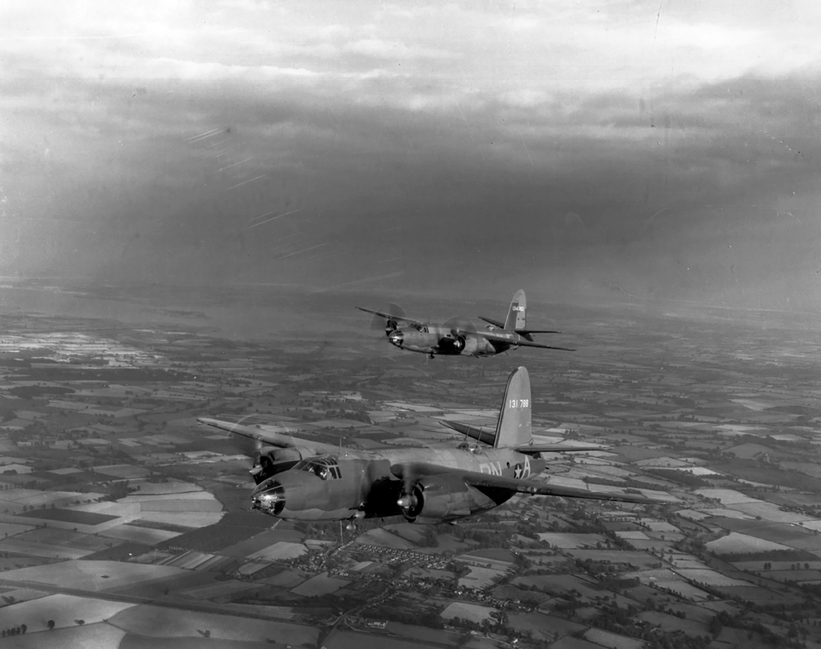 USAAF 41 31788 B 26B Marauder 322BG449BS PNA Truman Committee out of Andrews Field 1944 04