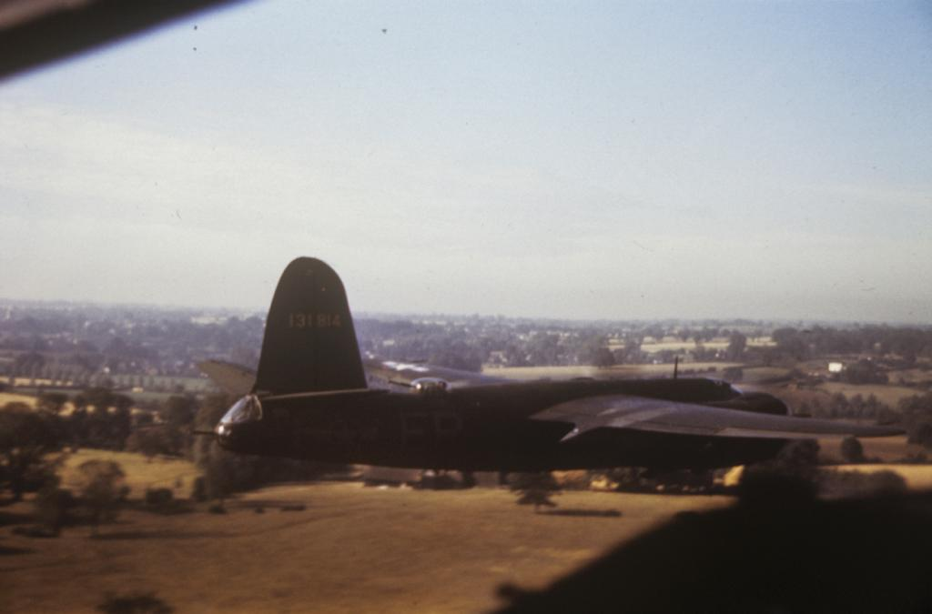 USAAF 41 31814 B 26B Marauder 322BG450BS ERF Bags of Bolts in colour England 24 Aug 1943 03