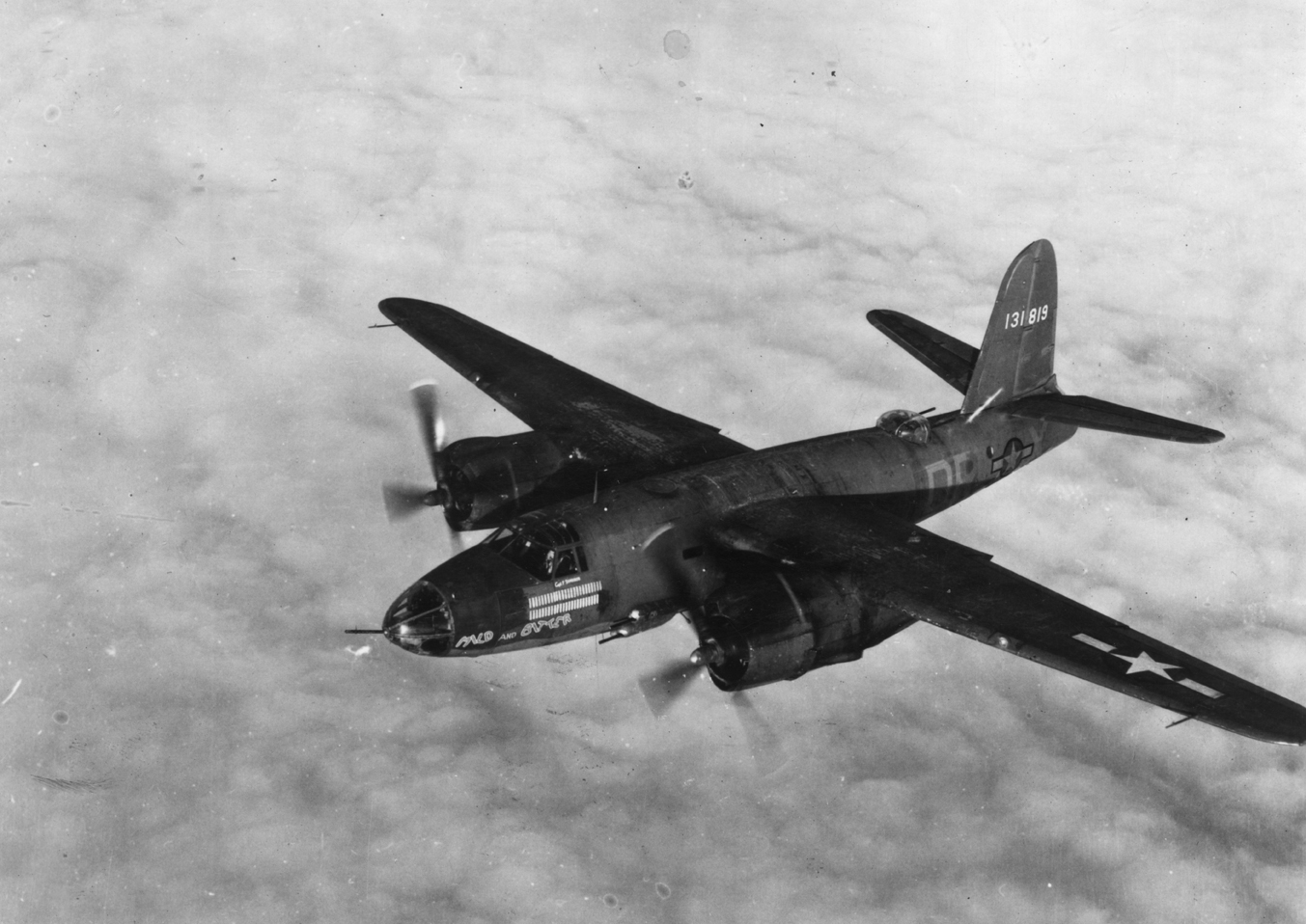 USAAF 41 31819 B 26B Marauder 322BG452BS DRX Mild and Bitter with 49 missions 01