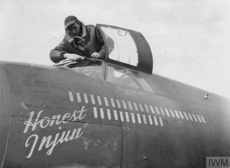 USAAF 41 34695 B 26C Marauder 323BG454BS RJB Honest Injun 9 Feb 1944 01