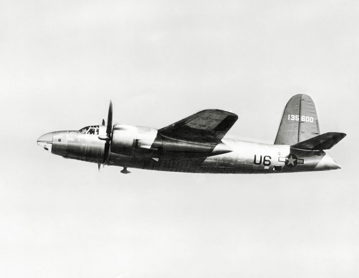 USAAF 41 35600 B 26C Marauder transfered to the USN as AT 23B 01