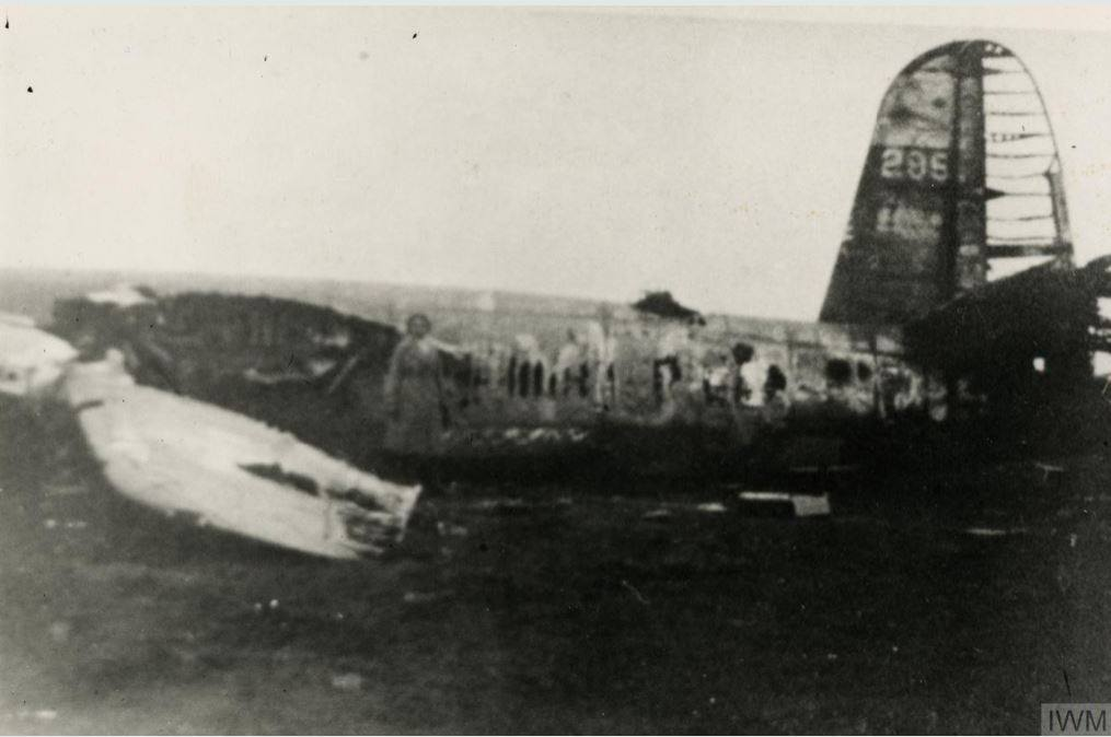 USAAF 42 95863 B 26B Marauder 323BG455BS YUx sd by flak over Holland and crashed nr Winterswijk MACR 9218 6 Oct 1944 01