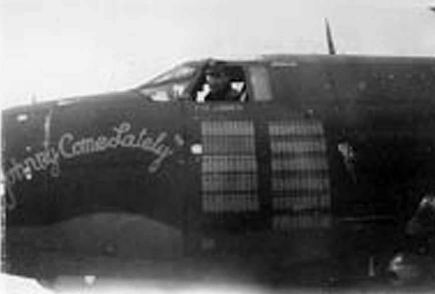 USAAF 42 95896 B 26B Marauder 344BG497BS 7IC Johnny Come Lately with its mission tally 01