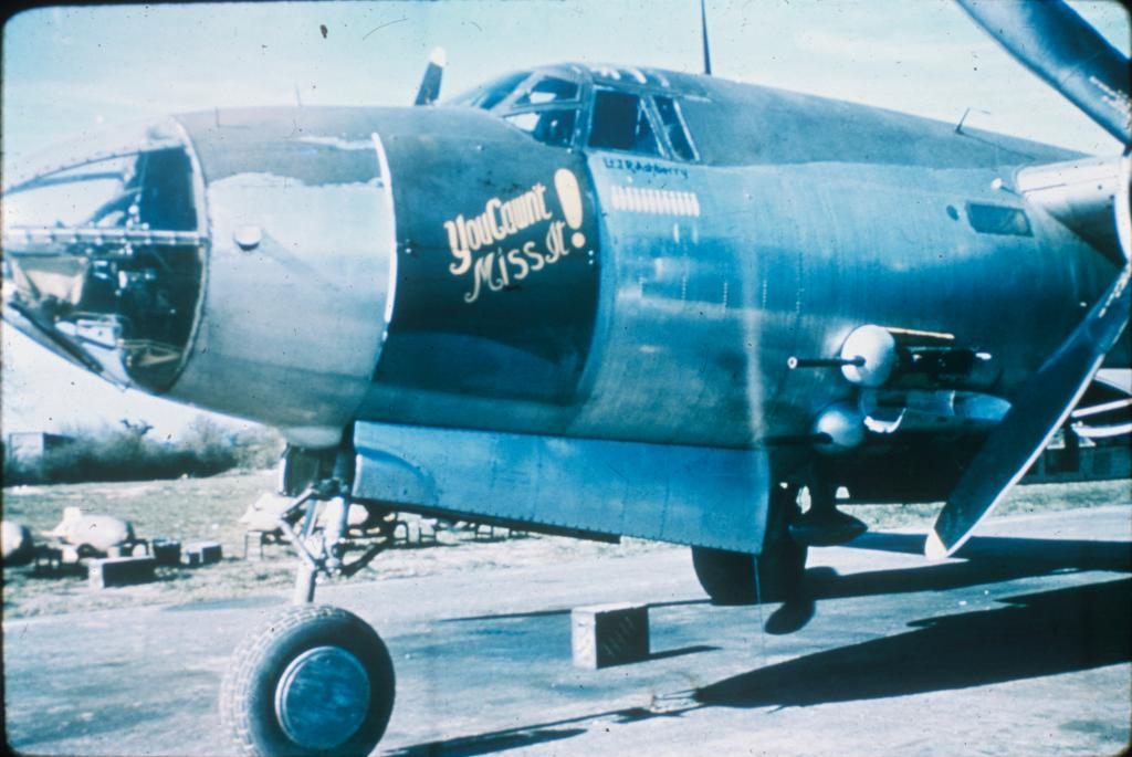 USAAF 42 95912 B 26B Marauder 344BG494BS K9Q You Cant Miss It England 01
