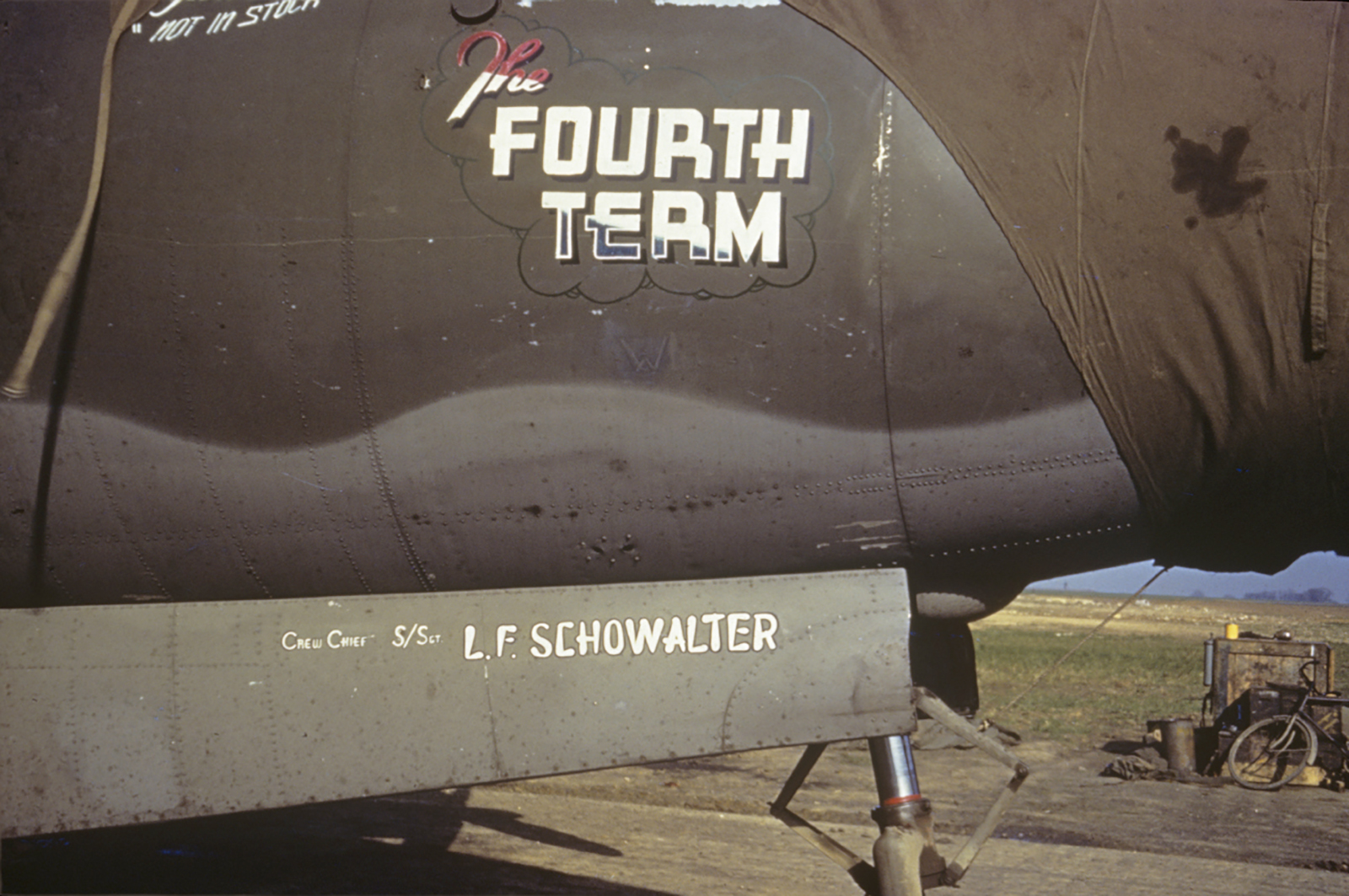 USAAF 42 95936 B 26B Marauder 344BG496BS N3 K The Fourth Term 01