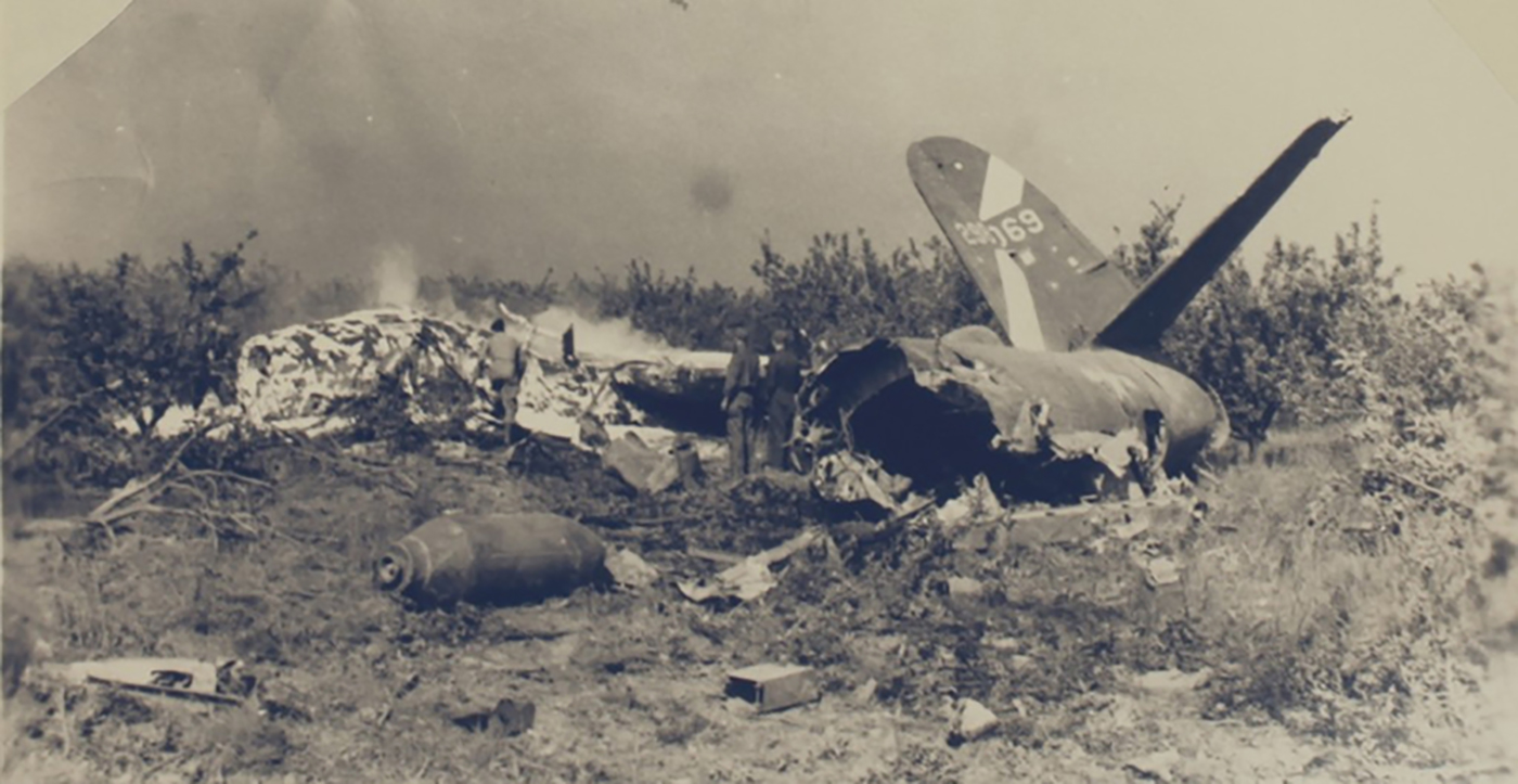 USAAF 42 96069 B 26B Marauder 394BG587BS crash site 01