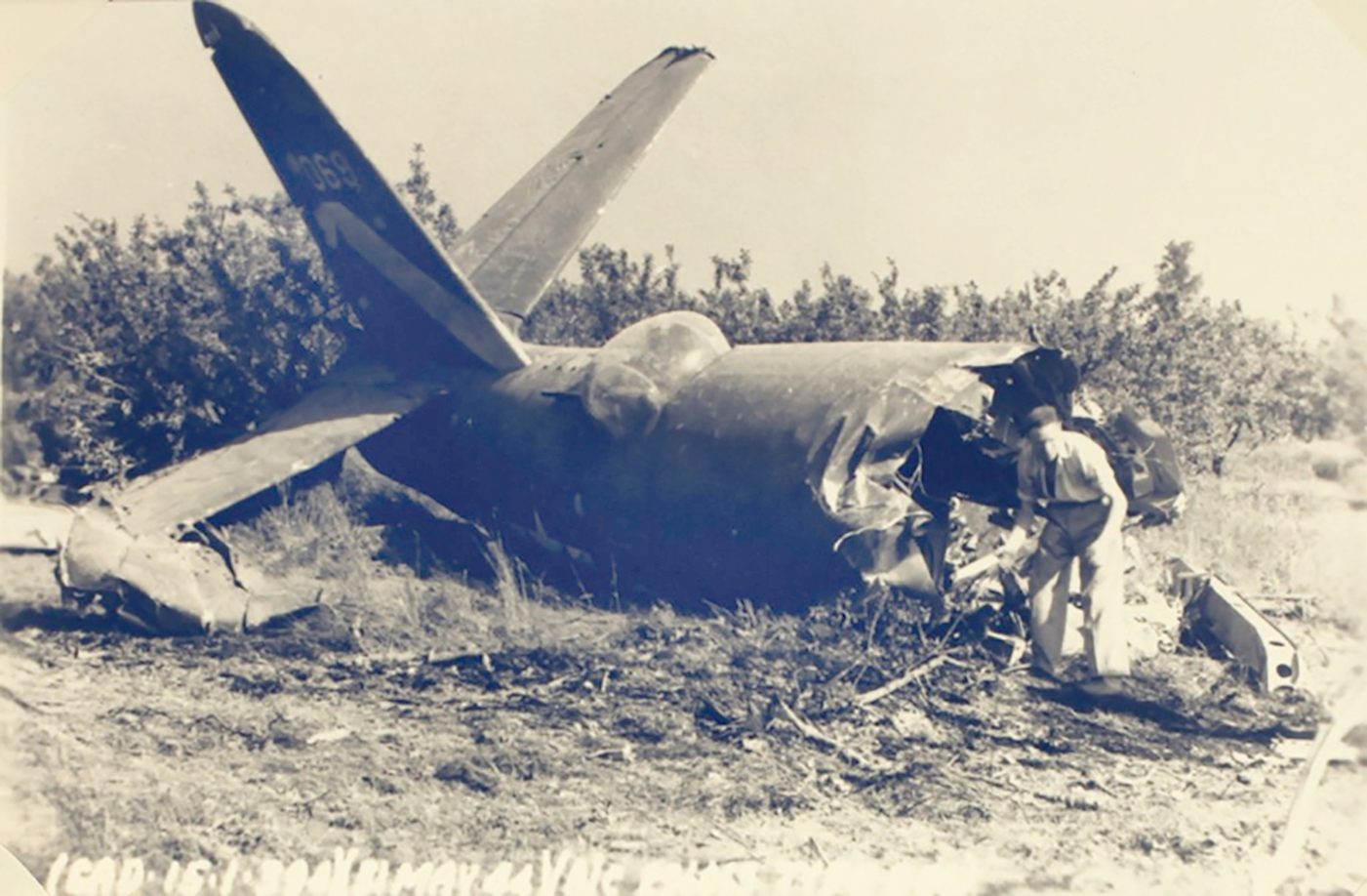 USAAF 42 96069 B 26B Marauder 394BG587BS crash site 02