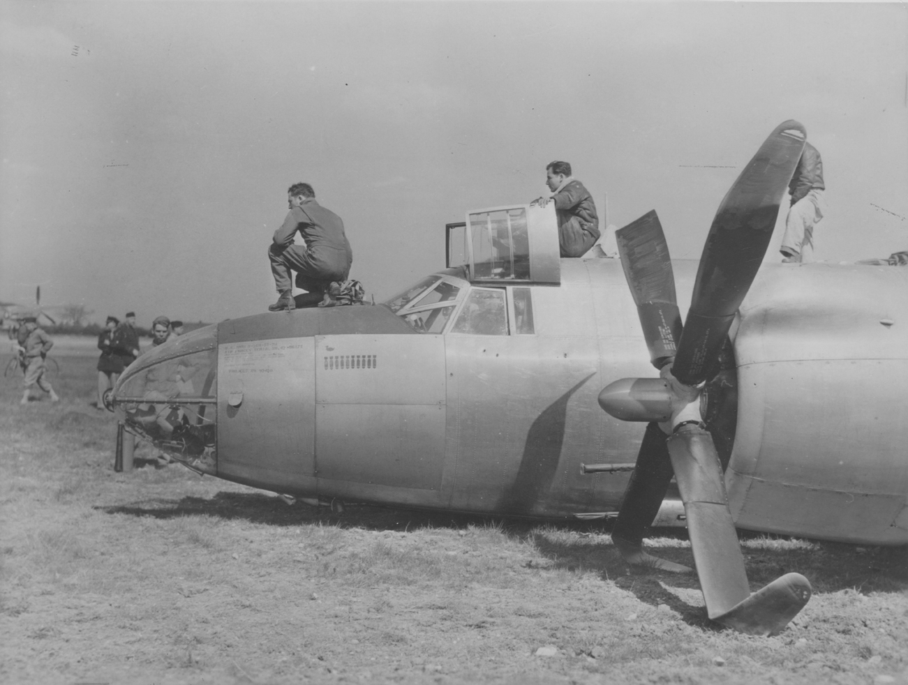 USAAF 42 96175 B 26B Marauder 397BG599BS 6BV Collect on delivery crashed at Grange Hill Coggeshall 11 May 1944 02