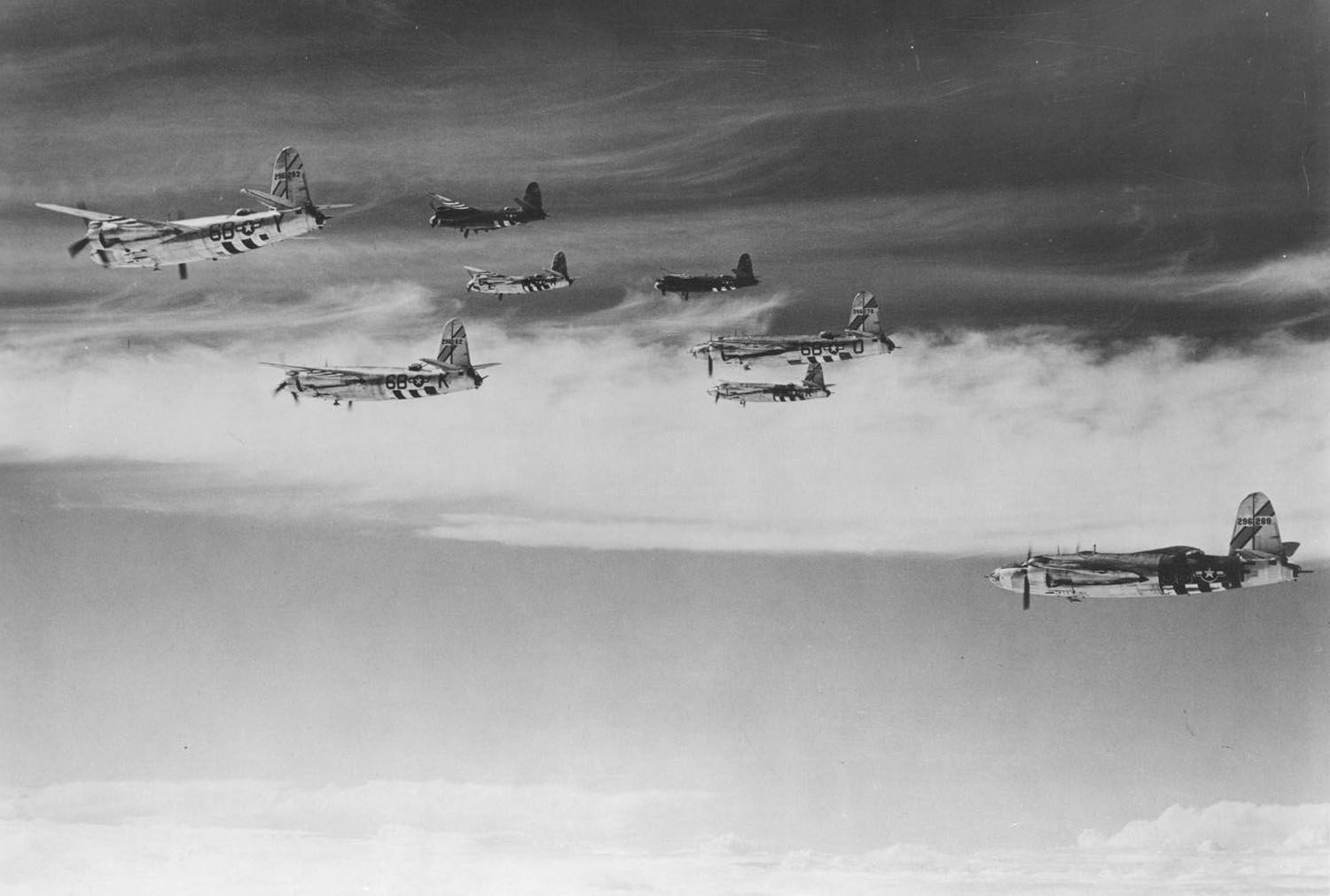 USAAF 42 96289 B 26F Marauder 397BG599BS 6BF later shot down flak Sept 08 1944 01