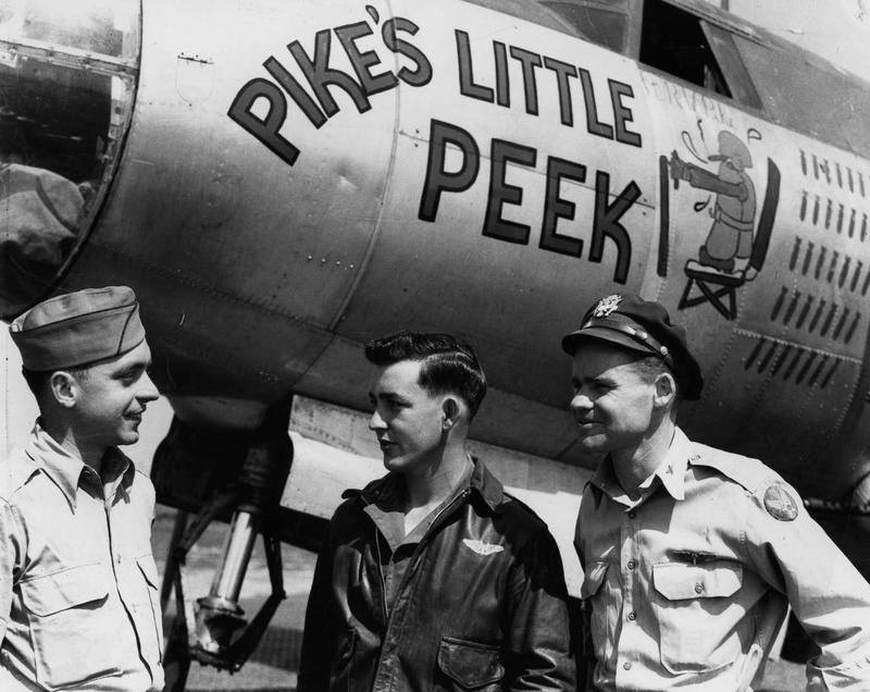 USAAF 43 34294 B 26G Marauder 322BG451BS SSC Pikes Little Peek 02