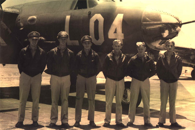 USAAF B 26 Marauder 387BG558BS Willett crew of 44 67889 seen here in the USA 01