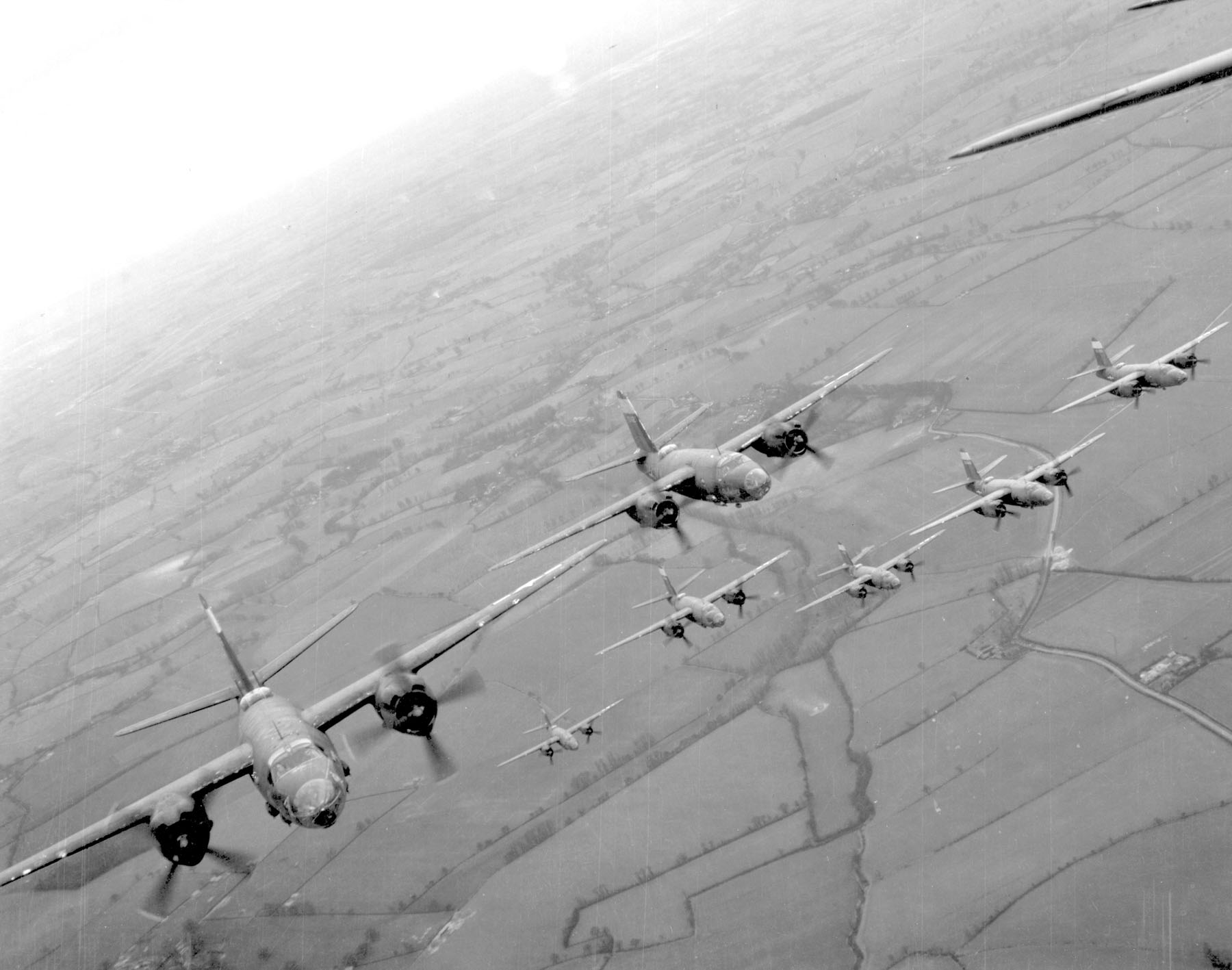 USAAF B 26 Marauders 9AF 323rd Bomb Group over France 01