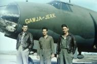 Asisbiz USAAF 41 17929 B 26B Marauder 322BG450BS ERD Gawja Jerk with Capt Roland B Scott and crew 01